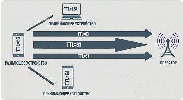 Обход TTL